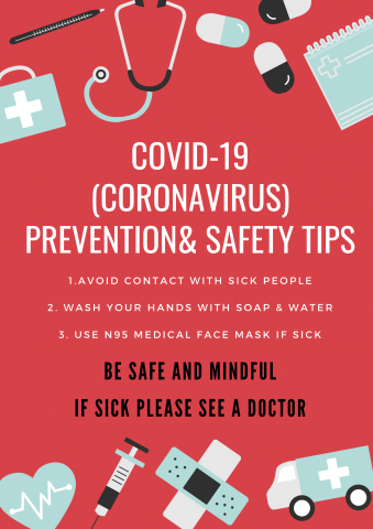 Coronavirus Safety Tips For Our Community